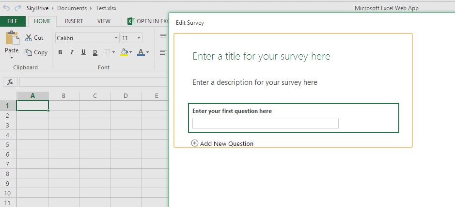 Excel_Survey_WebApp