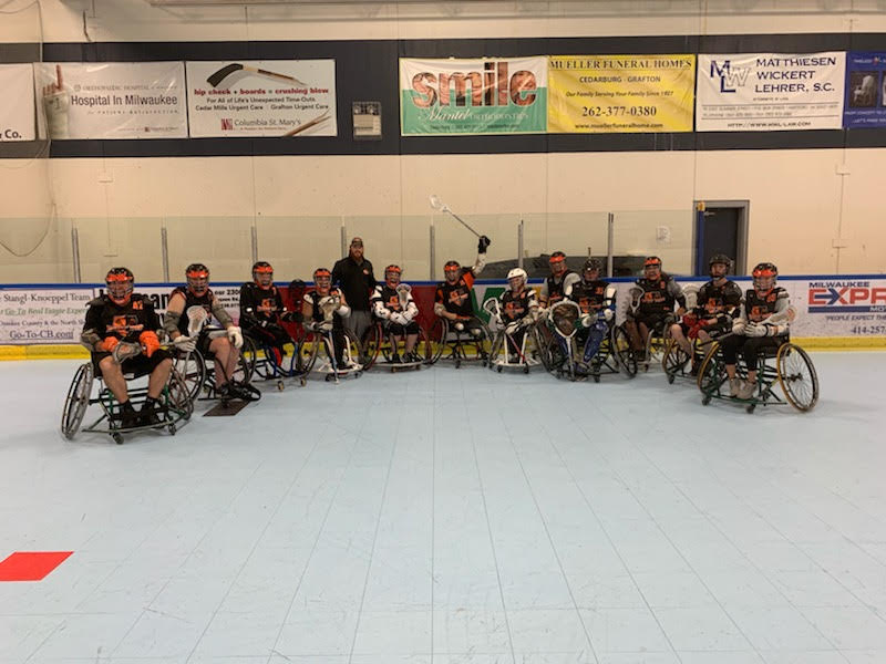 RHI Indy RIP Wheelchair Lacrosse team picture