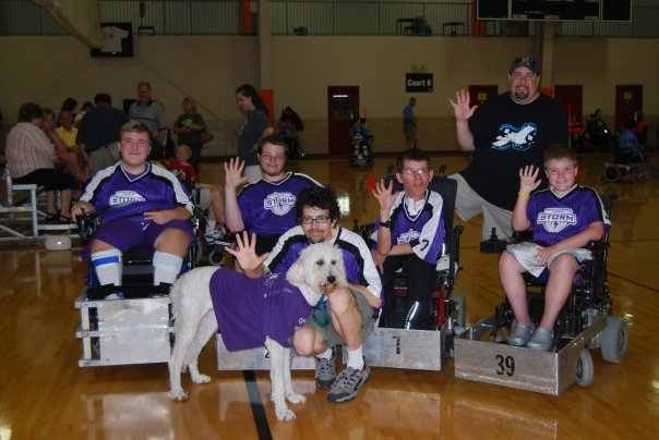 RHI Indy Storm team picture at 2008 Nationals